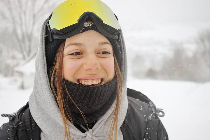 Aliah Delia Eichinger Ski Freestyle