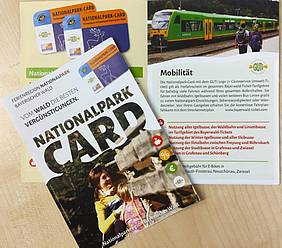 Flyer NationalparkCARD