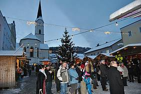Christkindlmärkte in der Ferienregion